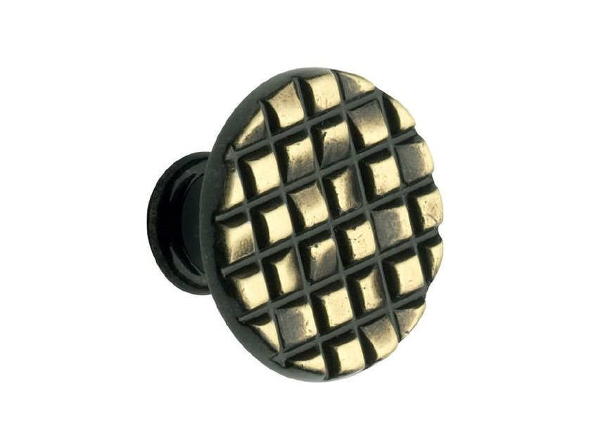 Zamak Furniture knob 10 815 | Furniture knob by Citterio Giulio
