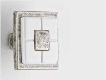 Zamak Furniture knob 10 821 | Furniture knob - Citterio Giulio