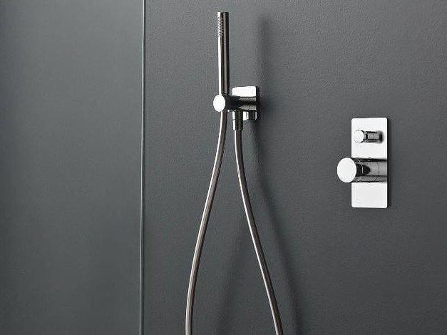 Miscelatore termostatico per doccia monoforo con doccetta 100 | Miscelatore termostatico per doccia monoforo by ZAZZERI
