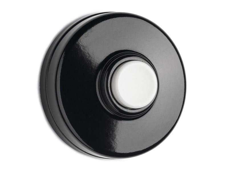 Bakelite doorbell button 100881 | Bakelite doorbell, white - THPG