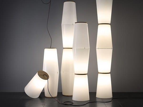 Floor lamp 100889 | Pilzkopfleuchte, black by THPG