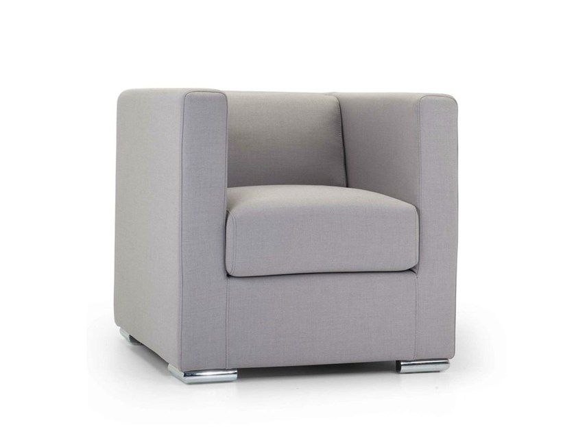 Armchair with removable cover with fire retardant padding 102 | Armchair - Domingo Salotti