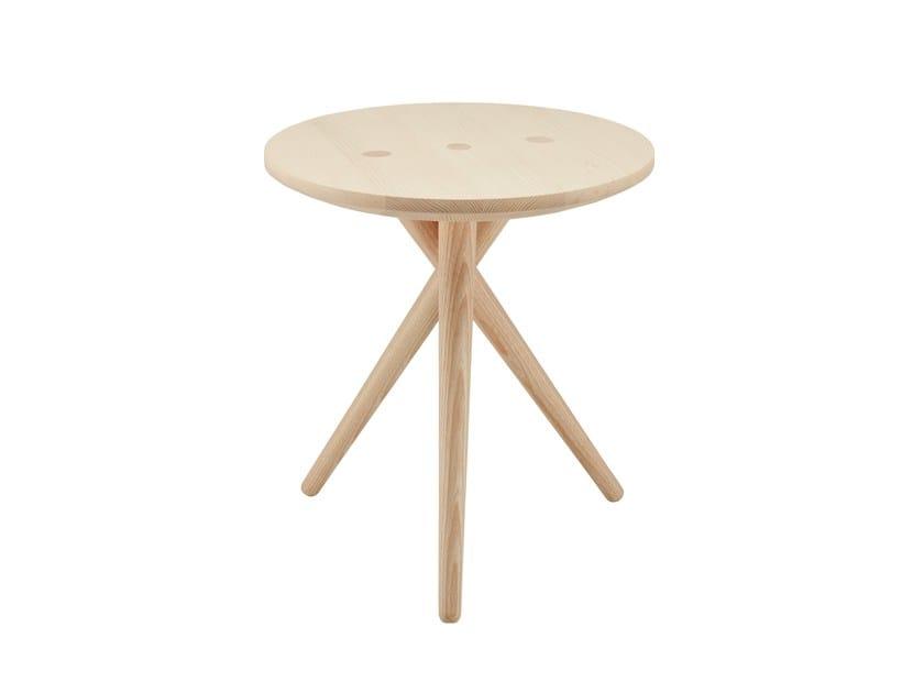 Tavolino di servizio in legno massello 1025 | Tavolino - THONET