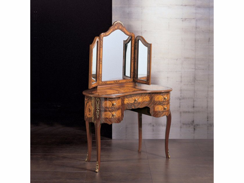 Wooden dressing table 104 | Dressing table by Rozzoni