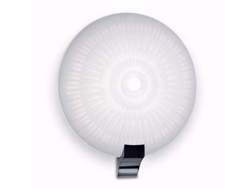 Applique a luce diretta in vetro 1053 | Applique - Jean Perzel