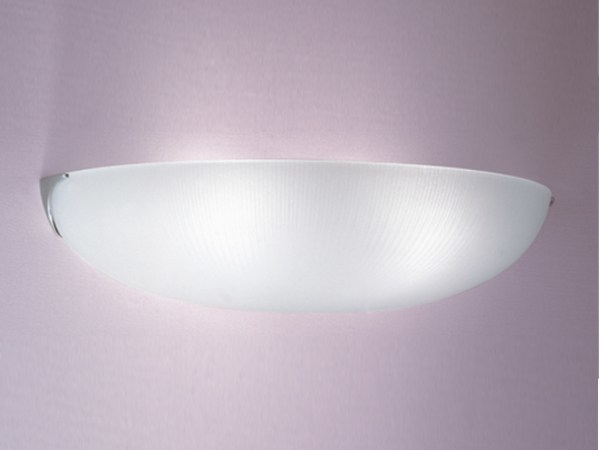 Applique a luce diretta in vetro 1055 | Applique by Jean Perzel
