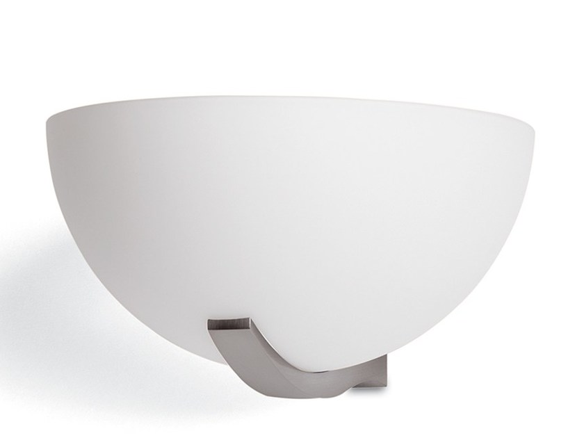 Applique a luce diretta in vetro 1065 | Applique - Jean Perzel