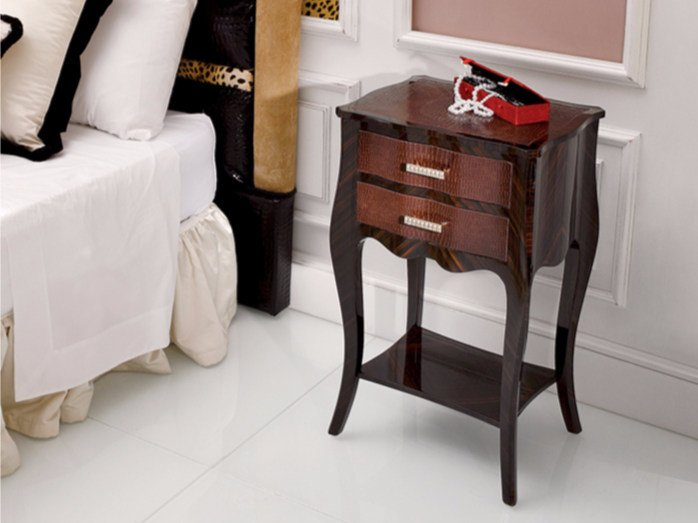 High side table with storage space 109E | Coffee table - Rozzoni Mobili d'Arte