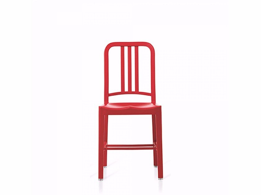 Recycled plastic chair 111 NAVY® - Emeco