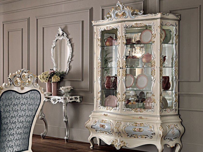 Lacquered display cabinet 11102 | Display cabinet by Modenese Gastone