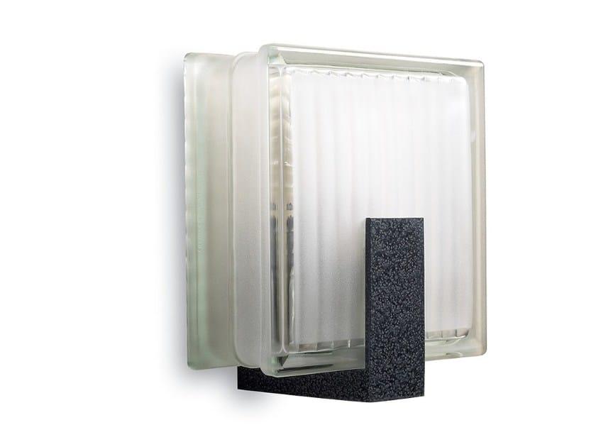 Applique a luce diretta in vetro 1151 | Applique - Jean Perzel