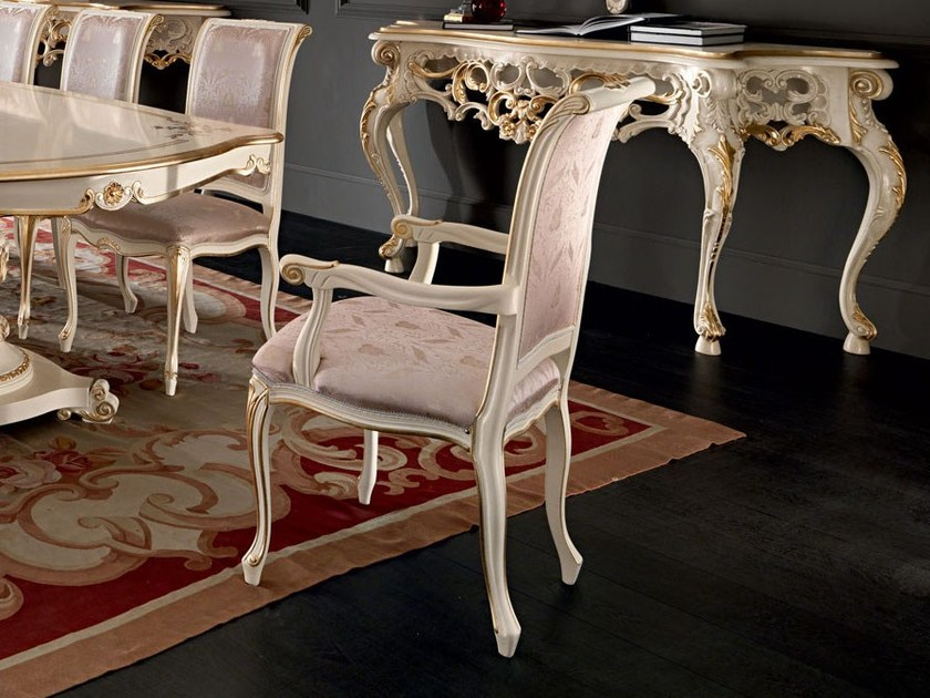 Chairs with velvet fabric - Villa Venezia Collection - Modenese Gastone