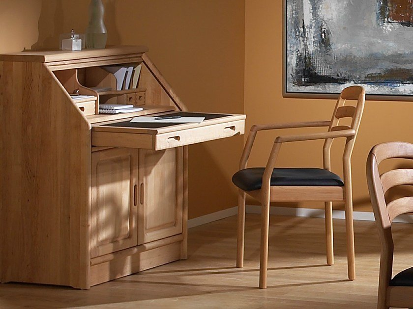 Wooden secretary desk 1152M | Secretary desk by Dyrlund