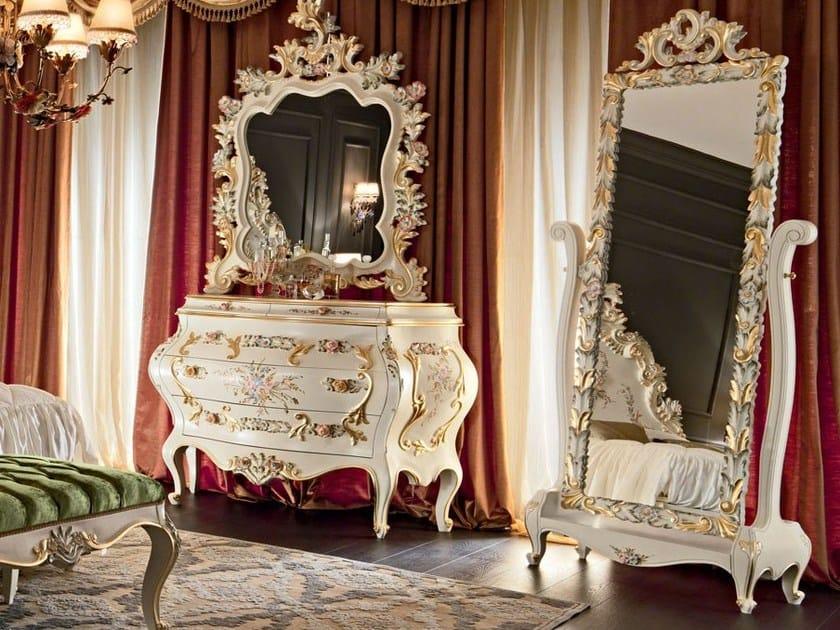 Classical bedroom furniture luxury mirror - Villa Venezia Collection - Modenese Gastone