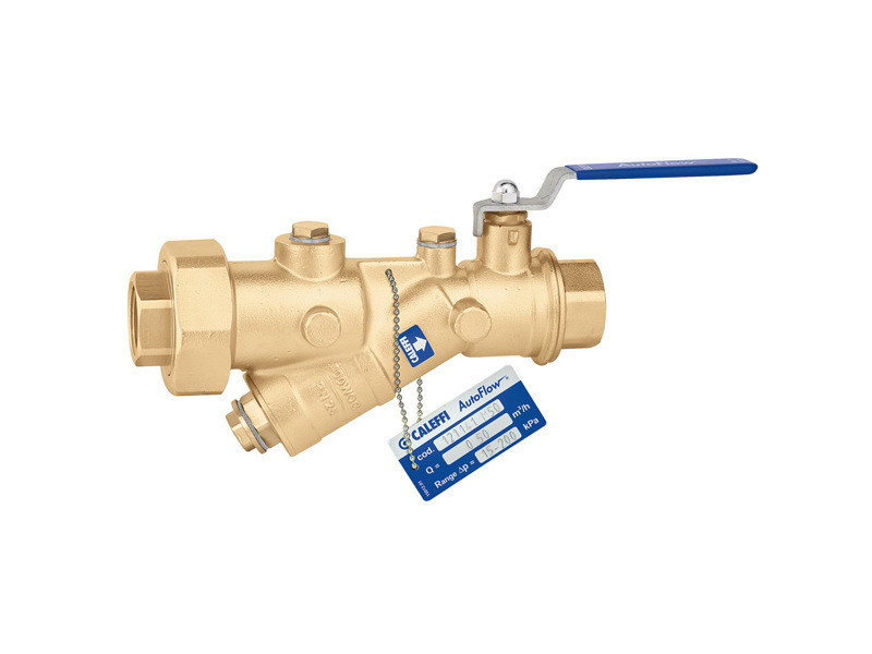 Accessory for distribution network and channel 121 AUTOFLOW® - CALEFFI