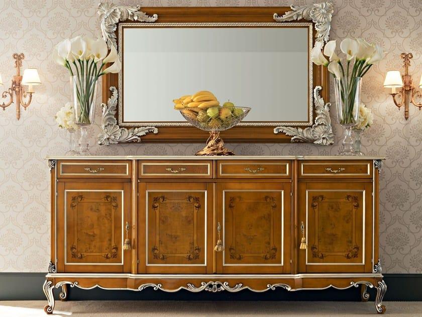 Italian luxury furniture sideboard with inlays - Casanova Collection - Modenese Gastone