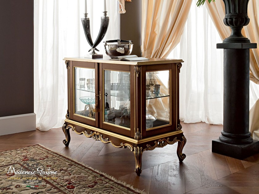 Interior accessories double faced display cabinet - Casanova Collection - Modenese Gastone