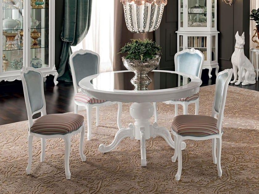 Tavolo da salotto rotondo in legno massello 12143  Tavolo - Modenese ...