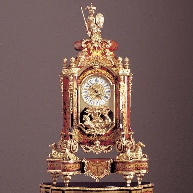 Table-top wooden clock 1240A | Clock - Rozzoni Mobili d'Arte