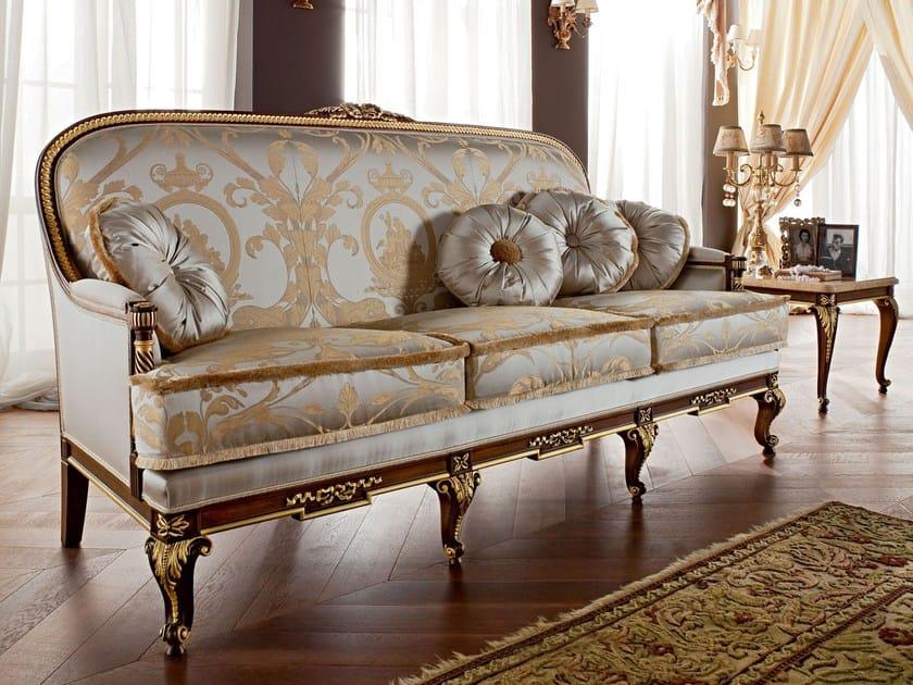 Upholstered sofa hardwood structure handmade - Casanova Collection - Modenese Gastone