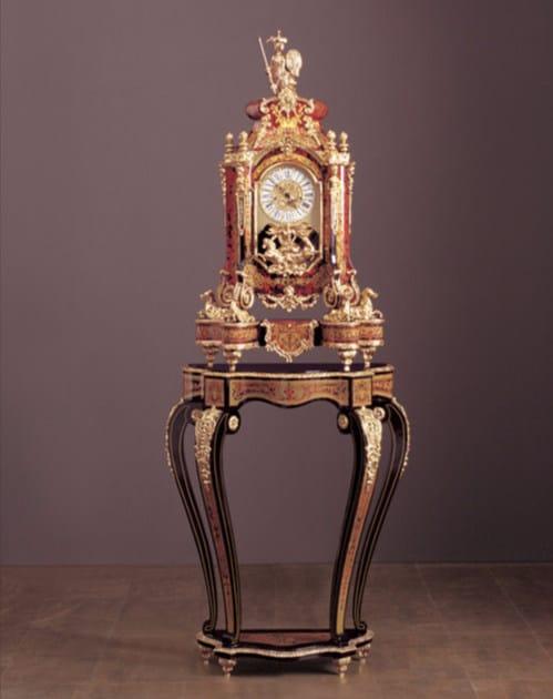 Demilune wooden console table 124BIS | Console table - Rozzoni Mobili d'Arte