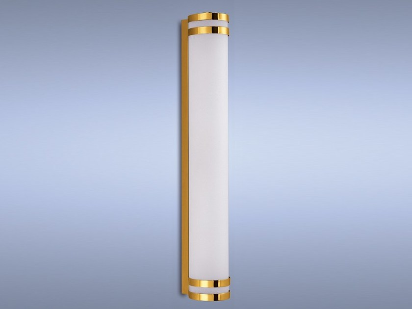 Direct light glass wall light 1250 | Wall light by Jean Perzel