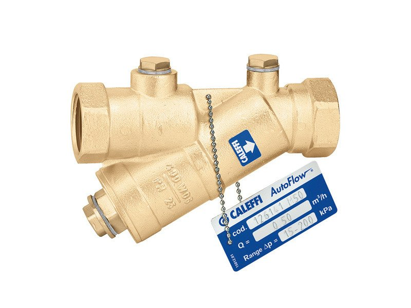 Accessory for distribution network and channel 126 AUTOFLOW® - CALEFFI