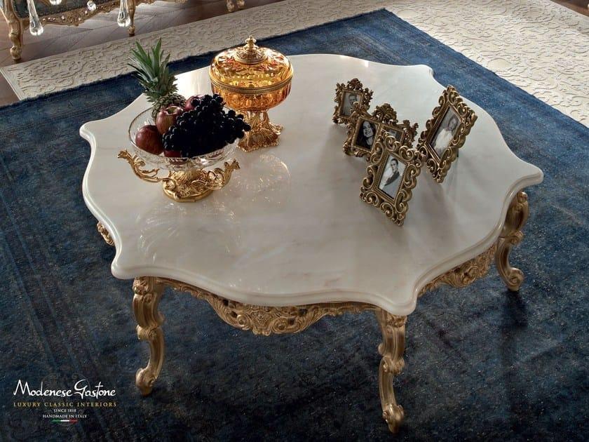 Home classic interior design figured marble table - Casanova Collection - Modenese Gastone
