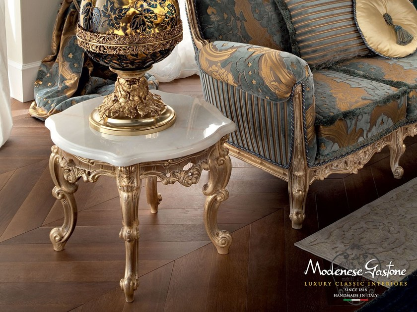 Living room classic interior design marble table - Casanova Collection - Modenese Gastone