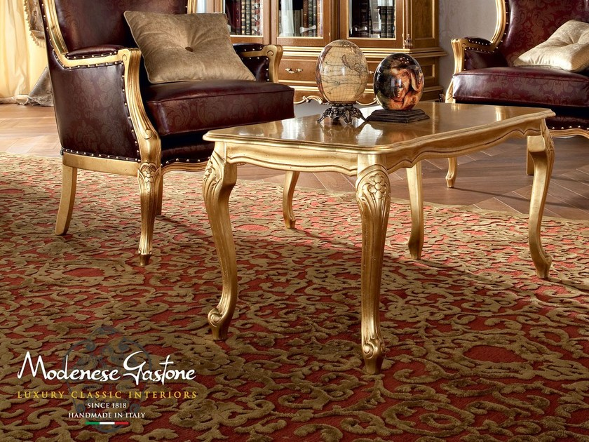 Luxury classic studio furnishing coffee table - Casanova Collection - Modenese Gastone