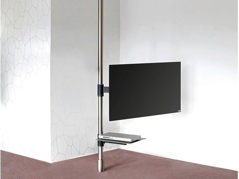 mobile tv orientabile in acciaio 129 mobile tv wissmann raumobjekte. Black Bedroom Furniture Sets. Home Design Ideas