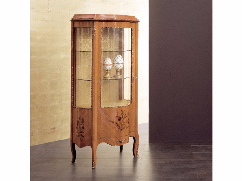 Wooden display cabinet 13 | Display cabinet - Rozzoni Mobili d'Arte