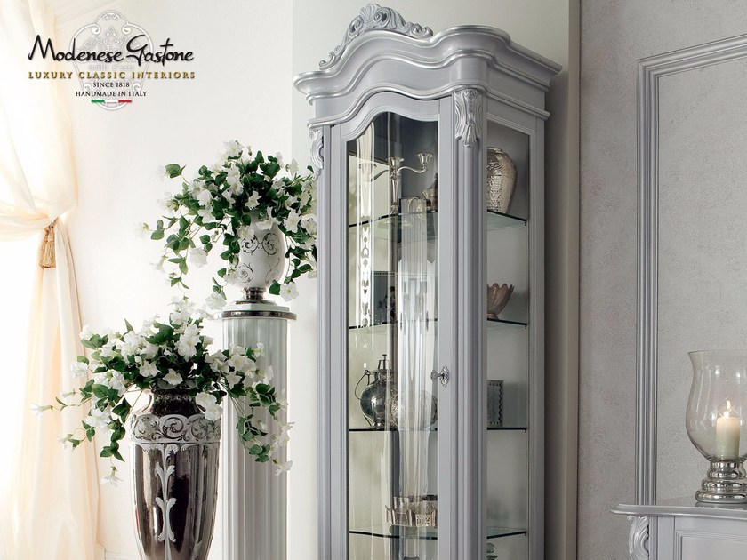 Wooden display cabinet 13124 | Display cabinet by Modenese Gastone