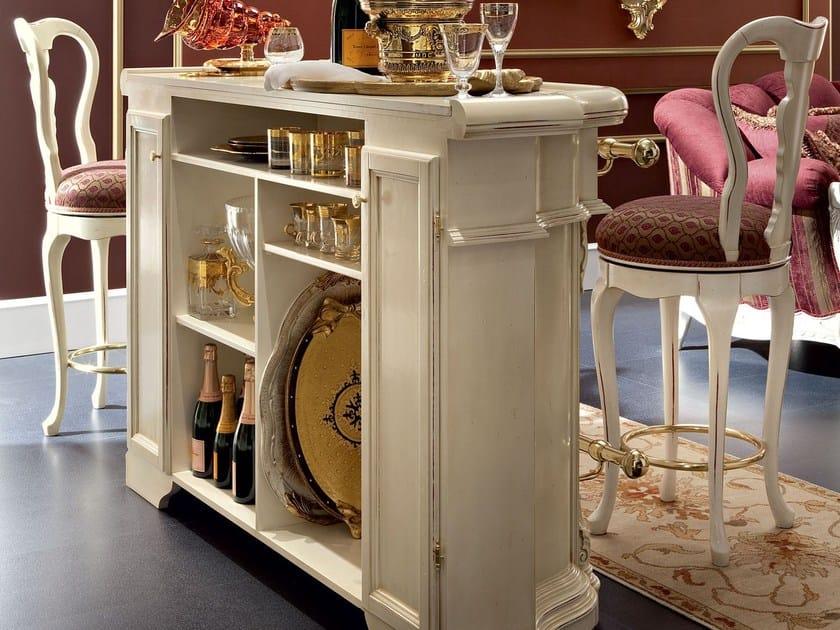 Bar counter hardwood luxury Italian lifestyle - Bella Vita Collection - Modenese Gastone