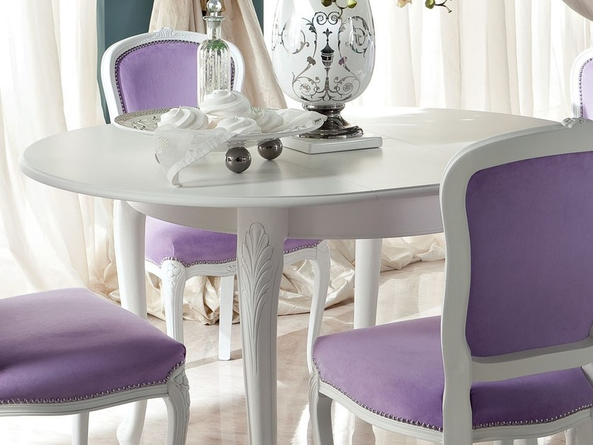 Home furnishing solution dining extendable table - Bella Vita Collection - Modenese Gastone