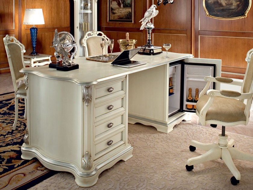 Classic luxury writing desk made in Italy - Bella Vita Collection - Modenese Gastone