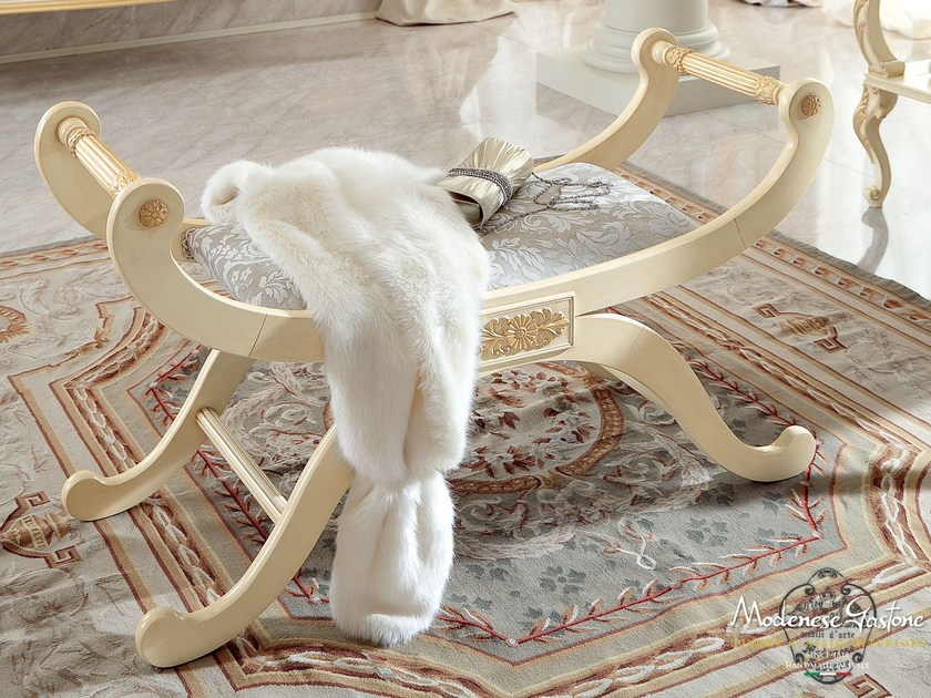 Upholstered bench 13524 | Bench by Modenese Gastone