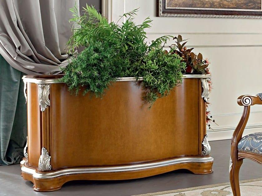 Luxury classic hardwood vase stand - Bella Vita Collection - Modenese Gastone