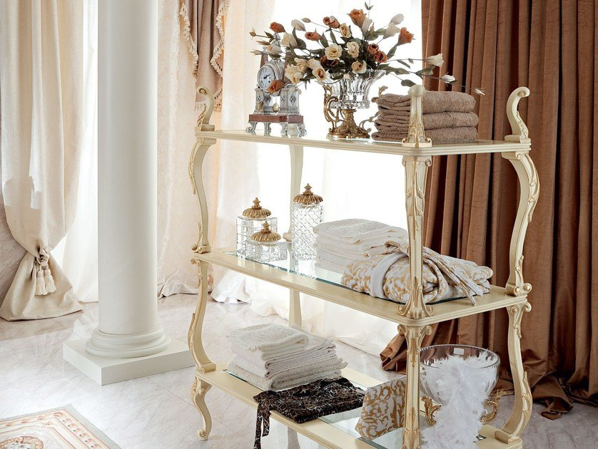 Luxury interior design etagere - Bella Vita Collection - Modenese Gastone