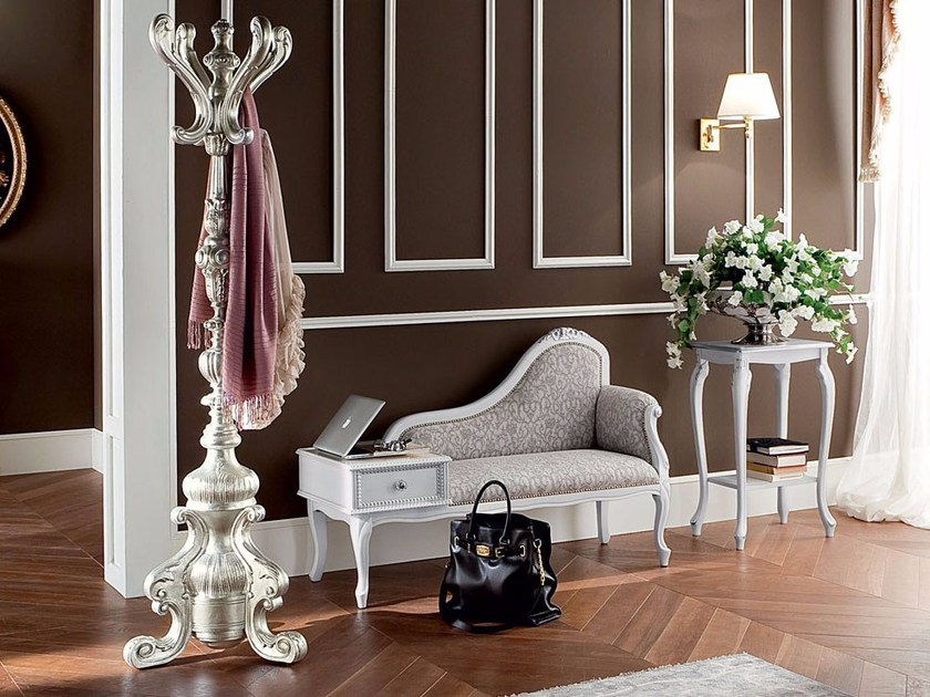 Entrance furnishing with phone stand shoe rack coat rack - Bella Vita Collection - Modenese Gastoneh