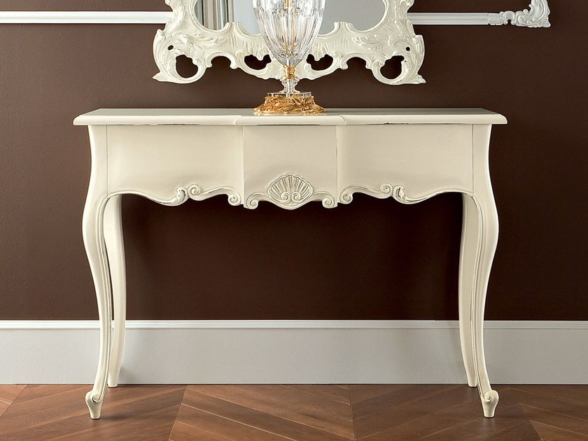 Hardwood classic carved console - Bella Vita Collection - Modenese Gastone