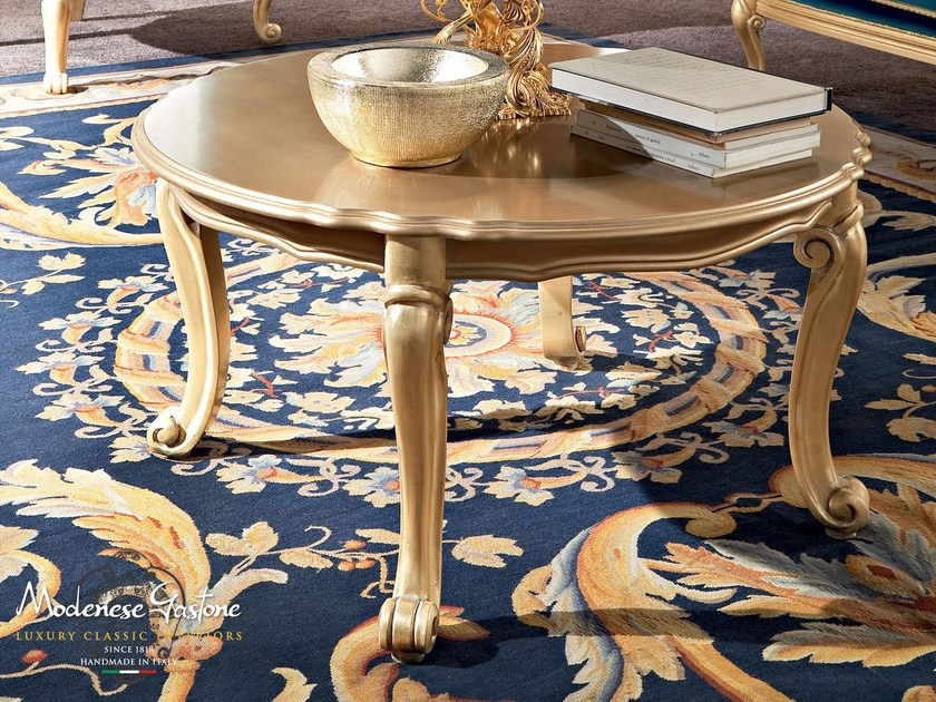 Round luxury classic table Italian furniture - Bella Vita Collection - Modenese Gastone