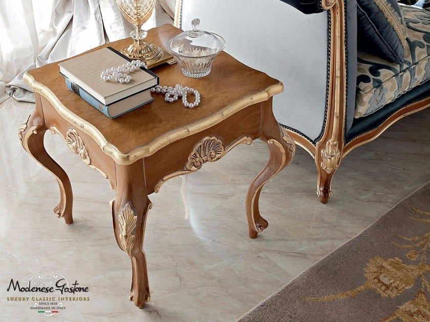 Luxury hardwood furnishing coffee table - Bella Vita Collection - Modenese Gastone