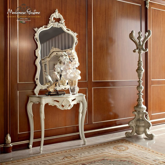 Rectangular wall-mounted framed mirror 13682 | Mirror by Modenese Gastone