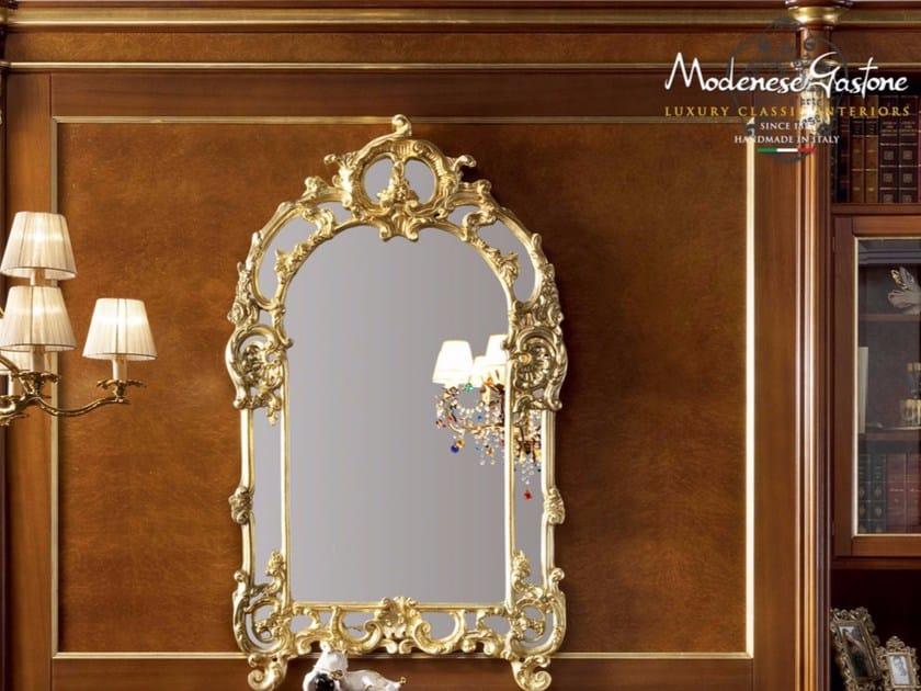 Wall-mounted framed mirror 13683 | Mirror by Modenese Gastone