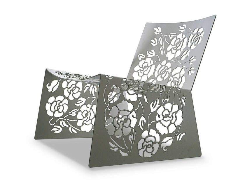 Metal easy chair 1450 ROSES | Metal easy chair - Vibieffe