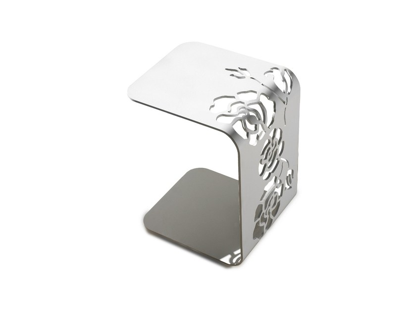 Metal side table 1450 ROSES | Side table - Vibieffe