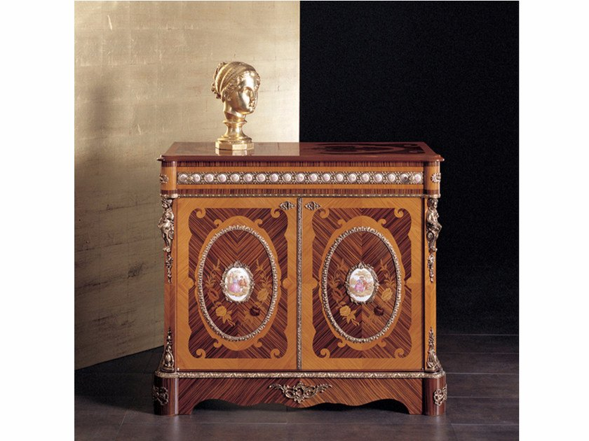 Wooden highboard with doors 15 | Highboard - Rozzoni Mobili d'Arte