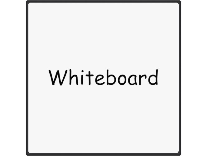 Office whiteboard / Decorative panel MAGNETIC WHITE BOARD - Add Plus