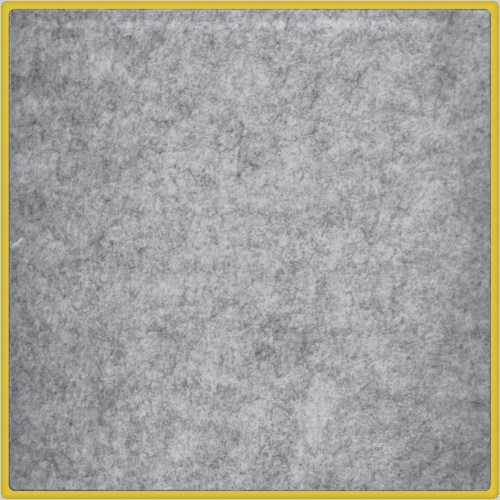 Felt Decorative panel SOFT GRIS CHINÉ - Add Plus